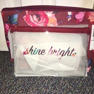 """Shine Bright"" Make up Bag"